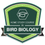 Home Study Course in Bird Biology badge