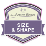 Be a Better Birder 1: Size and Shape badge