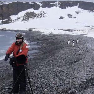Juan Pablo Culasso in Antarctica