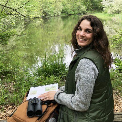Bird Academy instructor Liz Clayton Fuller