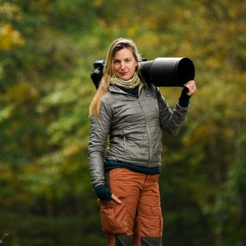 Melissa Groo with Her Camera
